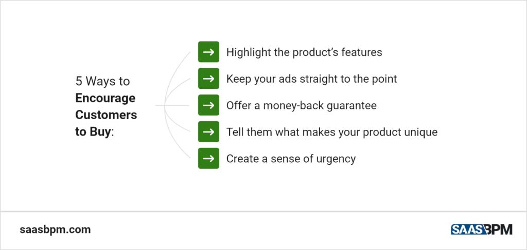 5 Ways to Encourage Customers to Buy
