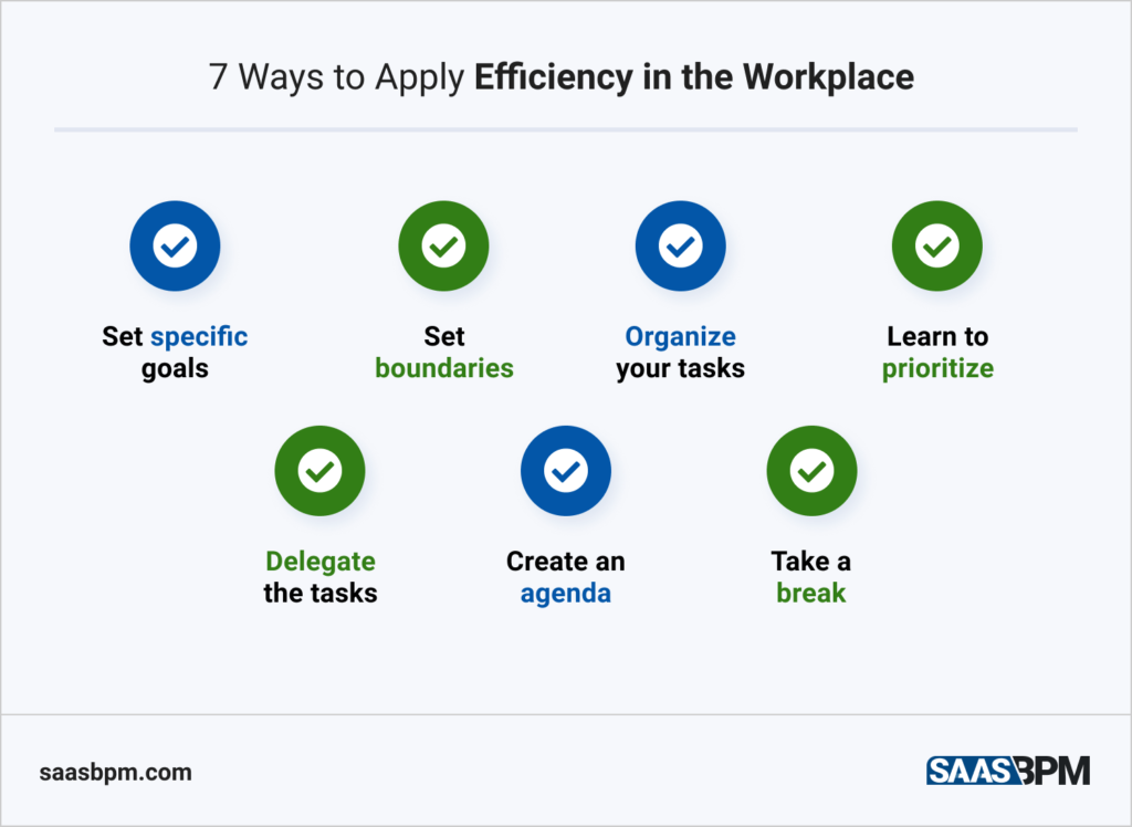 Ways to Apply Efficiency in the Workplace