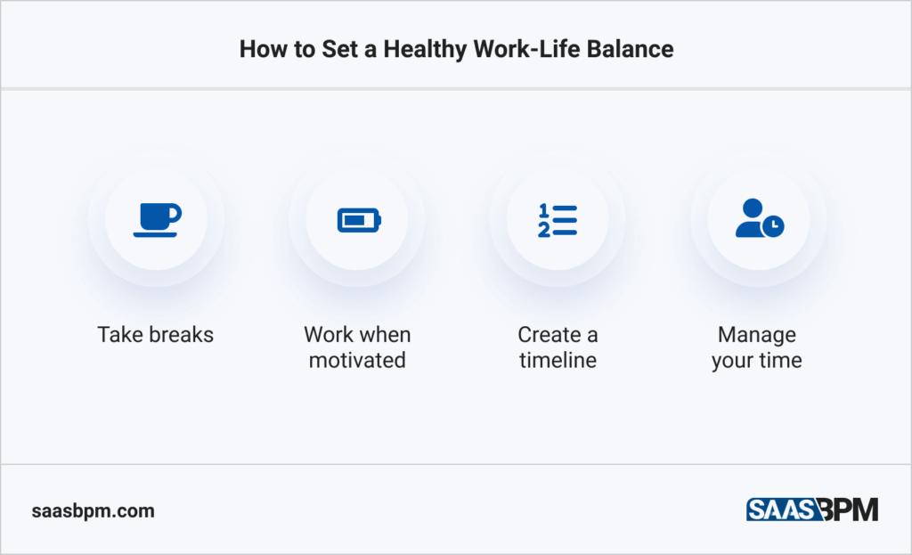 How to Set a Healthy Work-Life Balance
