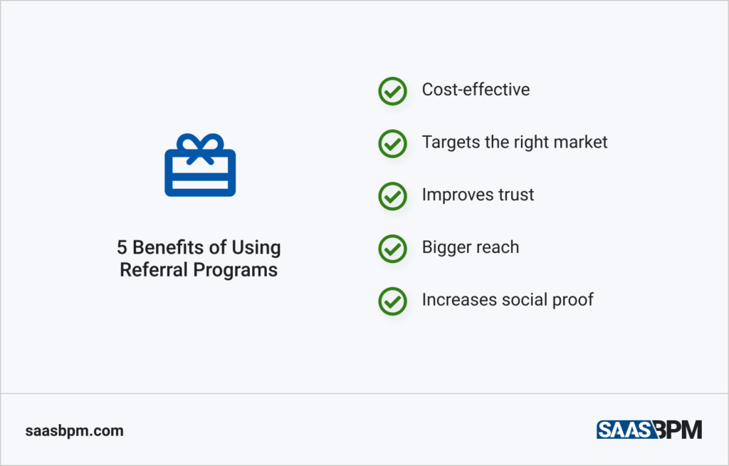 5 Benefits of Using Referral Programs