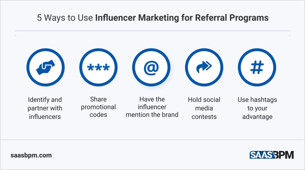 5 Ways to use influencer marketing for referral programs