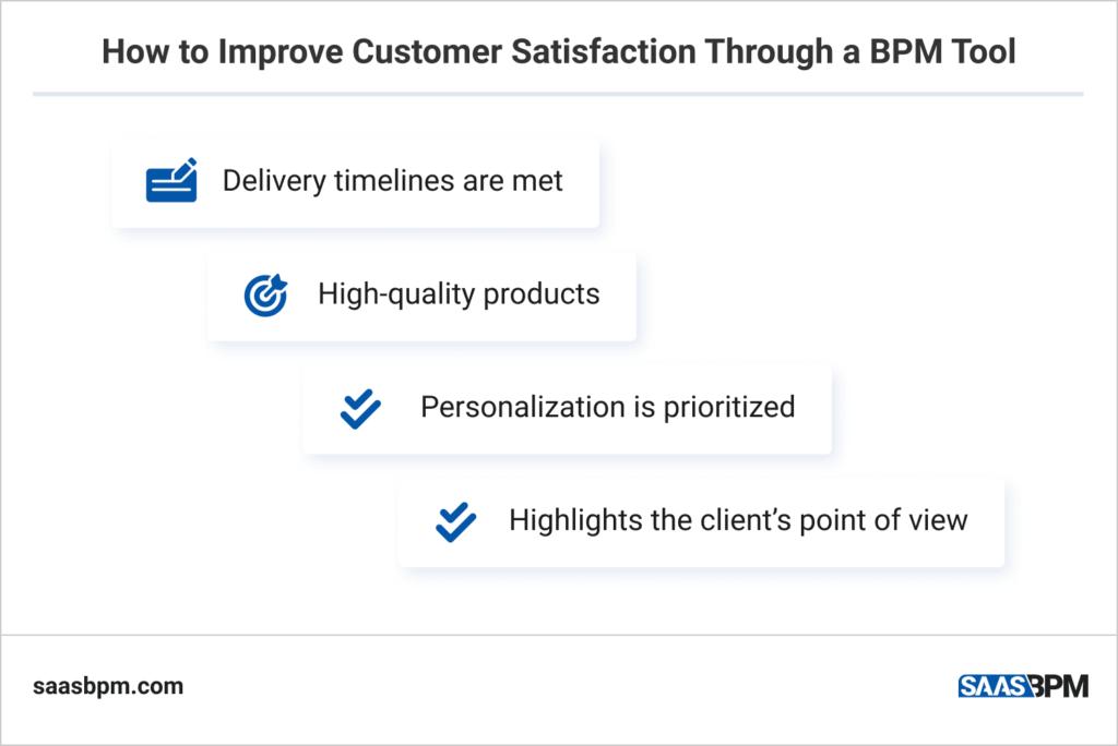 How to Improve Customer Satisfaction Through a BPM Tool