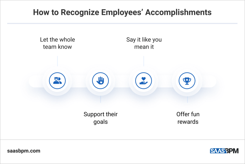 How to Recognize Employees' Accomplishments