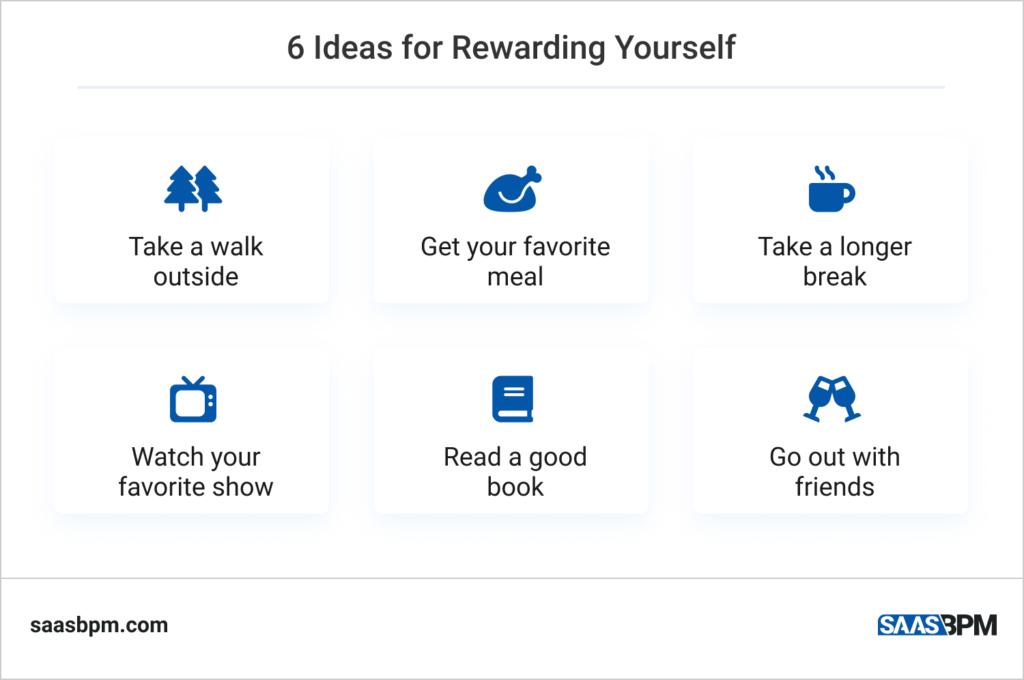 6 Ideas for Rewarding Yourself