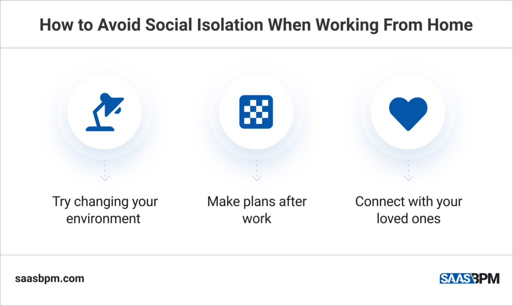 How to Avoid Social Isolation When Working From Home