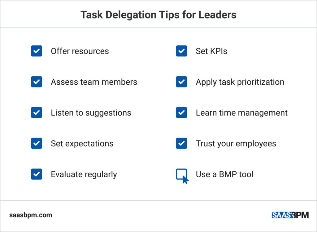 Task Delegation Tips for Leaders