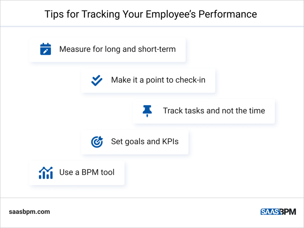Tips for Tracking Your Employee's Performance