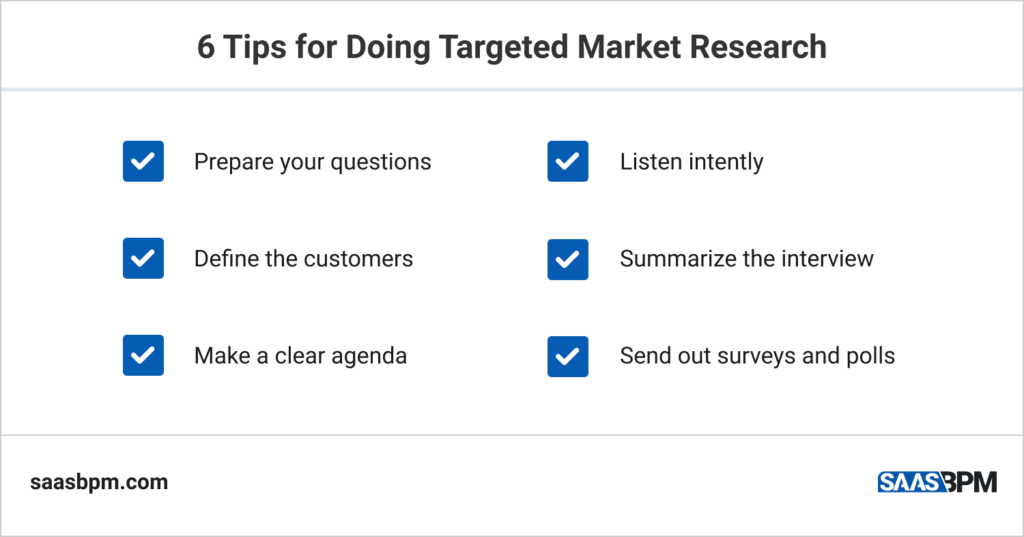 6 Tips for Doing Targeted Market Research